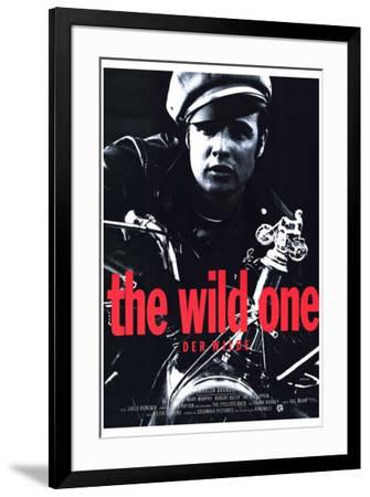 The Wild One - German Style--Framed Poster