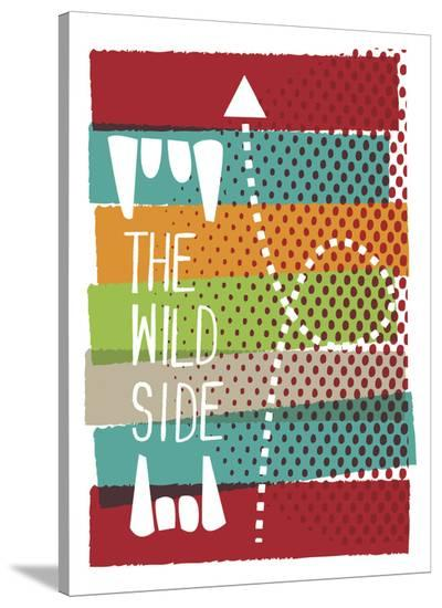 The Wild Side-Anthony Peters-Stretched Canvas