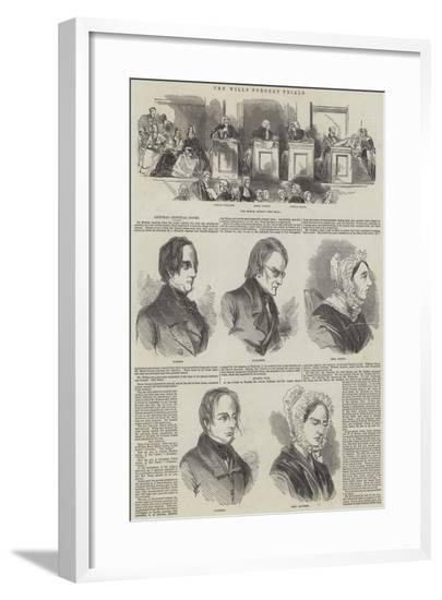 The Wills Forgery Trials--Framed Giclee Print