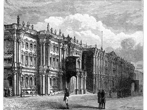 The Winter Palace, St Petersburg, Russia, C1888