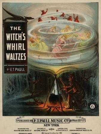 The Witch's Whirl Waltzes, Sam DeVincent Collection, National Museum of American History