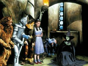 The Wizard of Oz, Bert Lahr, Jack Haley, Ray Bolger, Judy Garland, Margaret Hamilton, 1939