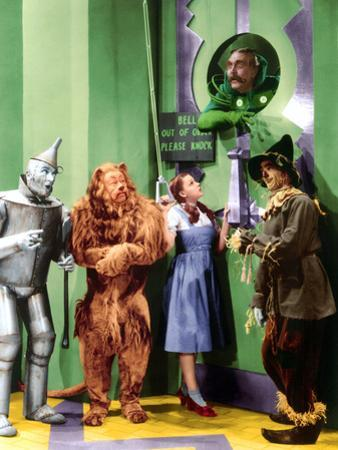 The Wizard of Oz, Jack Haley, Bert Lahr, Judy Garland, Frank Morgan, Ray Bolger, 1939
