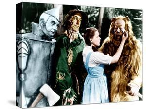 The Wizard of Oz, Jack Haley, Ray Bolger, Judy Garland, Bert Lahr, 1939