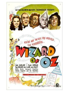 The Wizard of Oz, UK Movie Poster, 1939