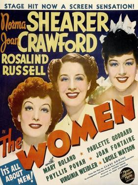 The Women, Joan Crawford, Norma Shearer, Rosalind Russell, 1939