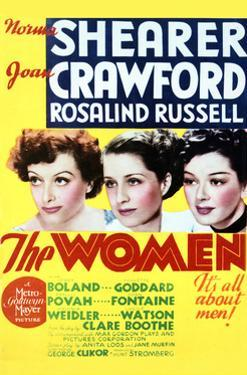 The Women - Movie Poster Reproduction