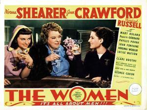 The Women, Paulette Goddard, Mary Boland, Norma Shearer, 1939