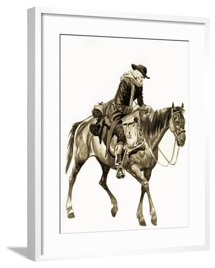 The Wonderful Story of Britain: The Good Work of John Wesley-Peter Jackson-Framed Giclee Print