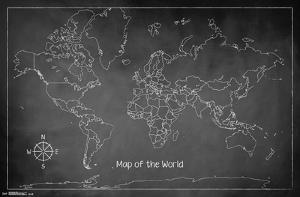 The World Chalk Map