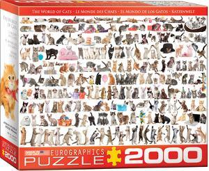 The World of Cats 2000 Piece Puzzle