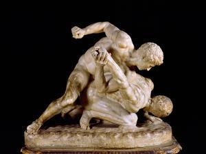 The Wrestler, Copy of Greek Sculpture 3rd Century BC