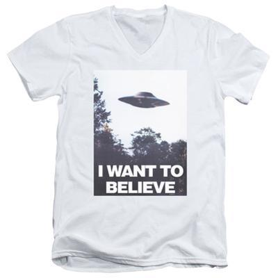 The X-Files- Believe Poster V-Neck