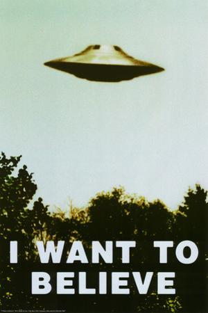 The X-Files - I Want To Believe Print