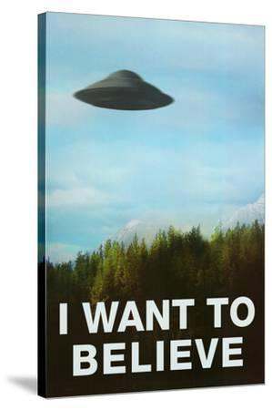 The X-Files I Want To Believe TV Poster Print
