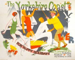 The Yorkshire Coast, LNER, c.1930