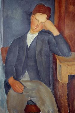 The Young Apprentice by Amedeo Modigliani