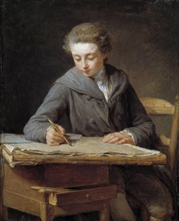 The Young Draughtsman, Portrait of Carle Vernet at the Age of 14 by Nicolas Bernard Lepicie
