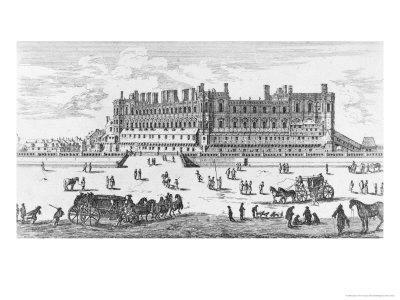 View of the Chateau de Saint-Germain-En-Laye, 1658