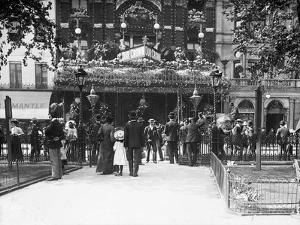 Theater Decorated for Coronation