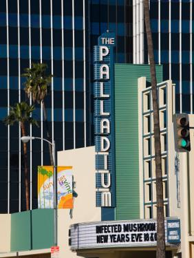 Theater in a City, Hollywood Palladium, Hollywood, Los Angeles, California, USA