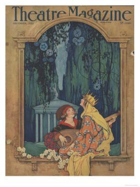 Theatre Magazine, Art Deco Magazine, USA, 1921