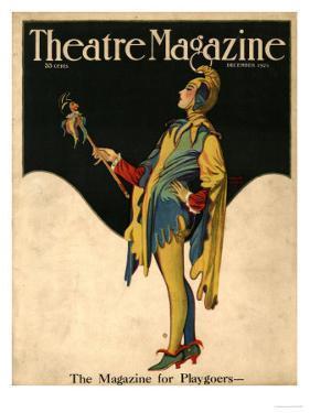 Theatre Magazine, Clowns Jesters Magazine, USA, 1921
