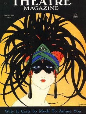 Theatre, Masks Magazine, USA, 1920