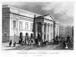 Theatre Royal Covent Garden, Westminster, London, 19th Century