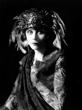 Theda Bara in the Broadway Show the Blue Flame, 1920