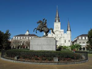 Jackson Square in New Orleans by theflashbulb