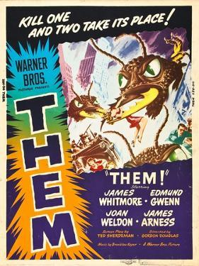 Them!, US poster art, 1954