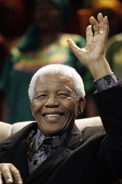Nelson Mandela by Themba Hadebe