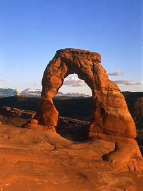 Arches National Park, Delicate Arch, Utah, USA by Theo Allofs