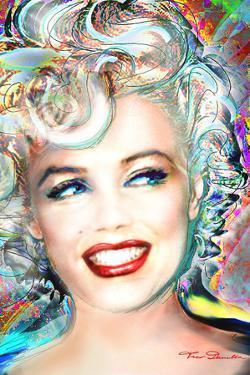 Theo Danella- Marilyn Monroe Electric by Theo Danella