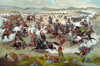 Custer's Last Stand by Theo Fuchs