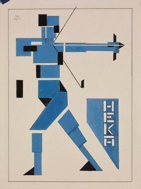 Archer by Theo van Doesburg