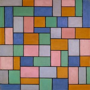 Composition in Dissonances, 1919 by Theo Van Doesburg