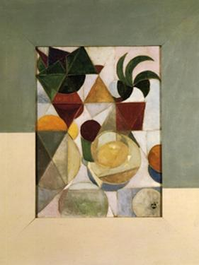 Still Life with Apples, 1916 by Theo Van Doesburg