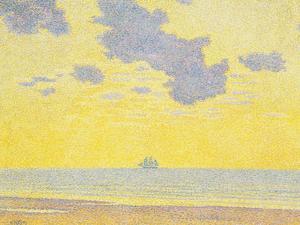 Big Clouds, 1893 by Theo van Rysselberghe
