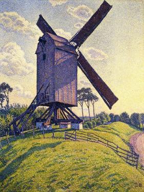 Windmill in Flanders; Moulin En Flandre, 1894 by Théo van Rysselberghe
