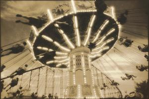 Bavarian Swings, Amusement Park, Pennsylvania by Theo Westenberger