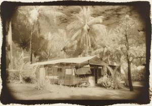 Caravan under awning, Queensland, Australia by Theo Westenberger