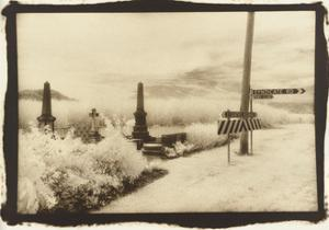 Cemetry at a Junction, Queensland, Australia by Theo Westenberger