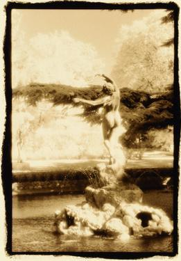 Fountain with Dancing Maiden, Avignon, France by Theo Westenberger