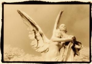 Guardian Angel, Luxembourg Gardens, Paris by Theo Westenberger