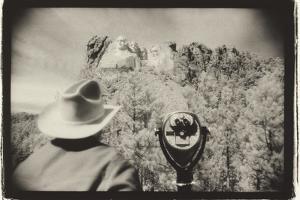 Regarding Mt. Rushmore, South Dakota, USA by Theo Westenberger