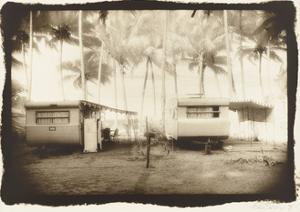 Two caravans, Queensland, Australia by Theo Westenberger
