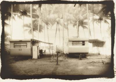 Two caravans, Queensland, Australia