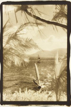Wind surfing, Whitsunday Islands, Australia